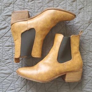 Catherine Malandrino Phillis vegan leather booties